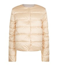 Escada Sport Reversible Quilted Jacket Female Beige