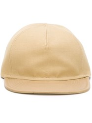 Balmain Baseball Cap Nude And Neutrals