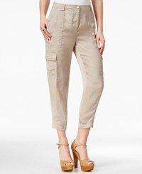 Guess Cropped Cargo Pants Woodson