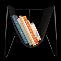 Unionmade Unionmade Black Makr Magazine Rack In Black