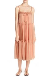 Women's Robin Piccone 'Sophia' Cover Up Dress Nude