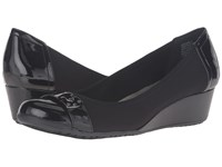 Anne Klein Carly Black Multi Fabric Women's Shoes