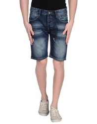 David Mayer Naman Denim Bermudas Blue