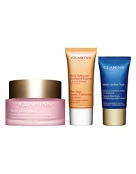 Clarins Multi Active 24 7 Non Stop Trio 79.00 Value No Color