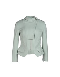 Uniqueness Suits And Jackets Blazers Women Light Green