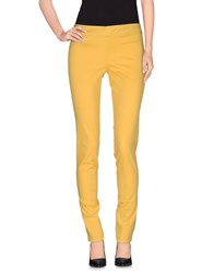 Roy Rogers Roy Roger's Trousers Casual Trousers Women Yellow