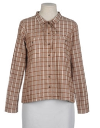 Le Mont St Michel Long Sleeve Shirts Brown