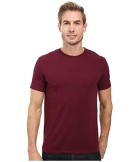 Mod O Doc San Onofre Short Sleeve Crew Wine Men's Clothing Burgundy