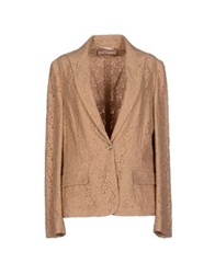 Galliano Blazers Camel