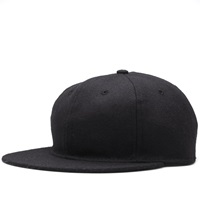 Standard Adjustable Cap Black Wool