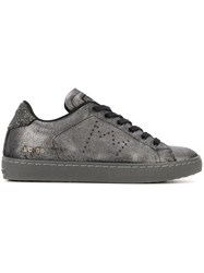 Leather Crown 'Lc06' Sneakers Grey