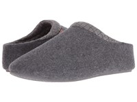 Freewaters Walden Charcoal Men's Slippers Gray
