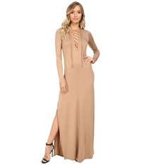 Rachel Pally Long Sleeve Jolene Dress Sandstone Women's Dress Beige