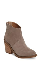 Steve Madden Women's Shrines Bootie Taupe Suede