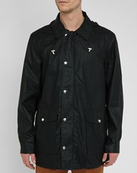Bill Tornade Black Marcus Hooded Raincoat