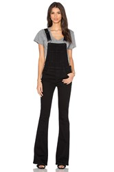 Paige Tavie Flare Overall Black