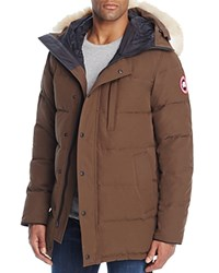 Canada Goose Carson Down Parka Grizzly Brown