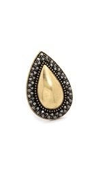 Samantha Wills Bardot Ring Burnished Gold
