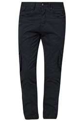 Voi Jeans Snakes Cargo Trousers Navy Dark Blue