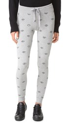 Spiritual Gangster Evil Eye Sweatpants Heather Grey