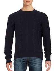 Lacoste Cable Knit Cotton Sweater Cosmo