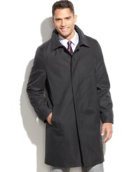 Kenneth Cole New York Coat Radnor Raincoat Big And Tall Black