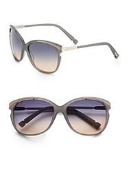 Jason Wu Seberg 60Mm Cat Eye Sunglasses Onyx