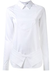 Each X Other Deconstructed Shirt White