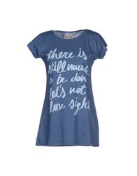Mary Cotton Couture T Shirts Blue