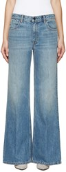 Alexander Wang Blue Faded Rave Jeans