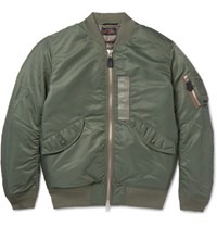 Beams Plus Beam Plu Hell Down Bomber Jacket Army Green