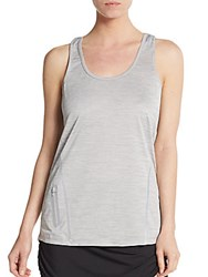 Reebok Moving Racerback Tank Cement Heather