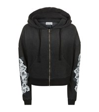 Wildfox Couture Rose Garden Hoodie Female Black