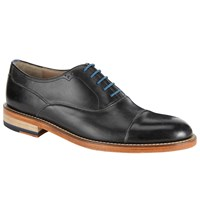Oliver Sweeney London Lupton Leather Oxford Lace Up Shoes Black