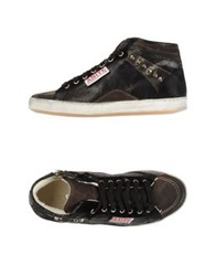 Aniye By High Tops And Trainers Dark Brown