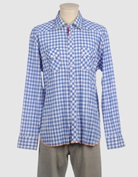 Arnold Zimberg Long Sleeve Shirts Blue