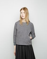 Steven Alan Brigitta Top Grey