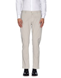 Maison Clochard Trousers Casual Trousers Men Beige