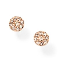 Fossil Jf00830791 Ladies Rose Gold Vintage Glitz Earring