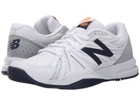 New Balance Wc786v2 White Blue Women's Tennis Shoes