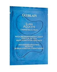 Super Aqua Eye Anti Puffiness Smoothing Eye Patch Guerlain Aqua Blue
