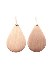 Irene Neuwirth Teardrop Shaped Rose Gold Earrings
