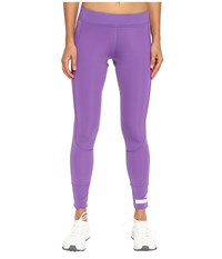 Adidas By Stella Mccartney The Performance 7 8 Tights Ax7061 Deep Lilac Women's Casual Pants Purple