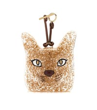 Loewe Cat Face Charm Gold