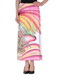 Amy Gee 3 4 Length Skirts Fuchsia