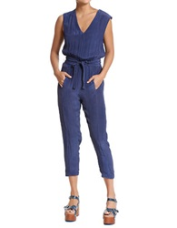 Plenty By Tracy Reese Solid Jumpsuit Indigo