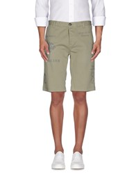 Fred Mello Trousers Bermuda Shorts Men Military Green