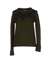 Soho De Luxe Sweaters Military Green