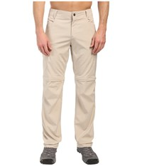 Columbia Silver Ridge Stretch Convertible Pants Fossil Men's Casual Pants Beige