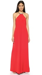 Kaufman Franco Sleeveless Jumpsuit Red